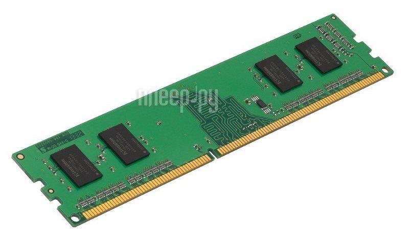 Модуль памяти Kingston DDR3 DIMM 1600MHz PC3-12800 CL11 - 2Gb KVR16N11S6/2