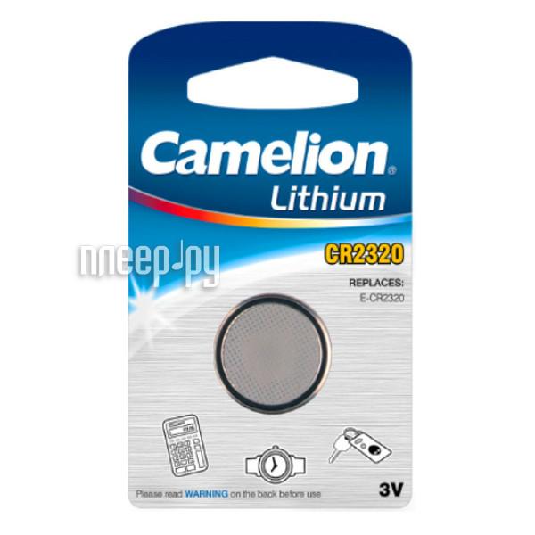 Батарейка CR2320 - Camelion CR2320-BP1 (1 штука)