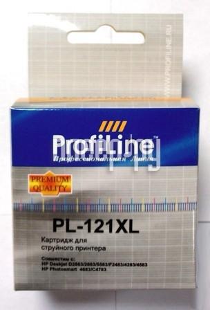 Картридж ProfiLine PL-CC644HE №121XL для HP Deskjet D1663 / D2500 / D2563 / D2663 / D5563 / F2423 / F2493 / F4213 / F4275 / F4280 / F4283 / F4583 / HP Photosmart C4683 / C4783 Color