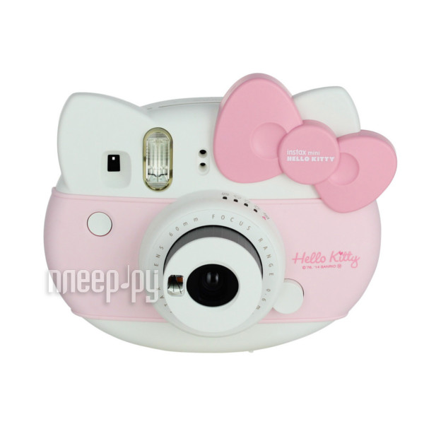 Фотоаппарат FujiFilm Instax Mini Hello Kitty + 10 Sheets Instant Film Pink