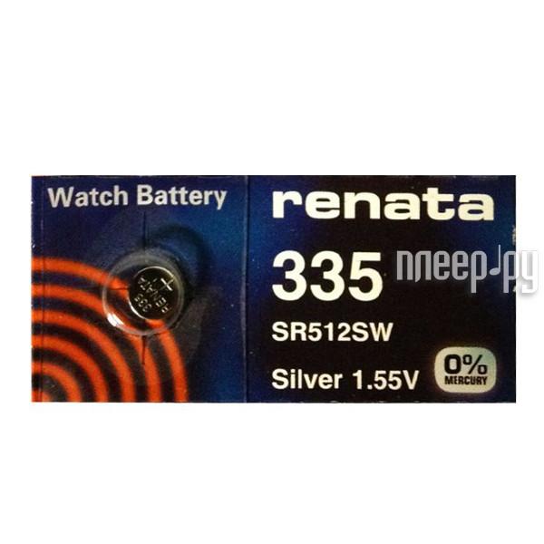 Батарейка R335 - Renata SR512SW (1 штука)
