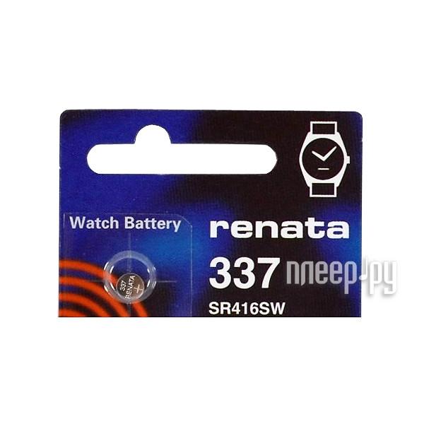 Батарейка R337 - Renata SR416SW (1 штука)