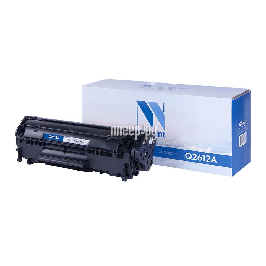 Картридж NV Print Q2612A для LJ 1010 / 1012 / 1015 / 1020 / 1022 / 3015 / 3020 / 3030