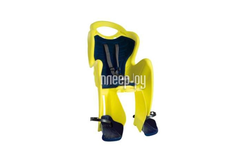 Велокресло Bellelli Mr Fox Clamp Hi-Viz Reflective-Yellow 80152