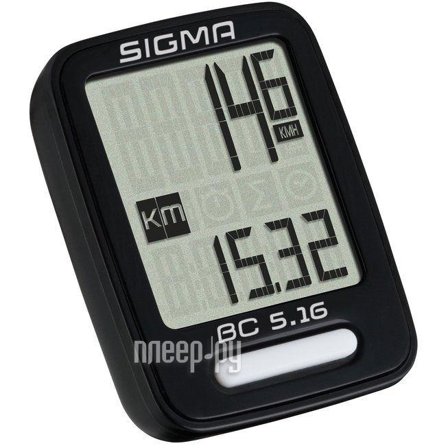 Велокомпьютер Sigma TopLine BC 506 05160