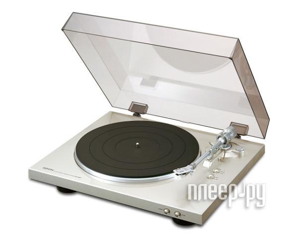 Проигрыватель виниловых дисков Denon DP-300F Silver