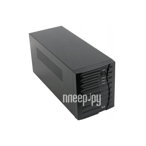 Источник бесперебойного питания 3Cott 3C-1200-MCSI 720W