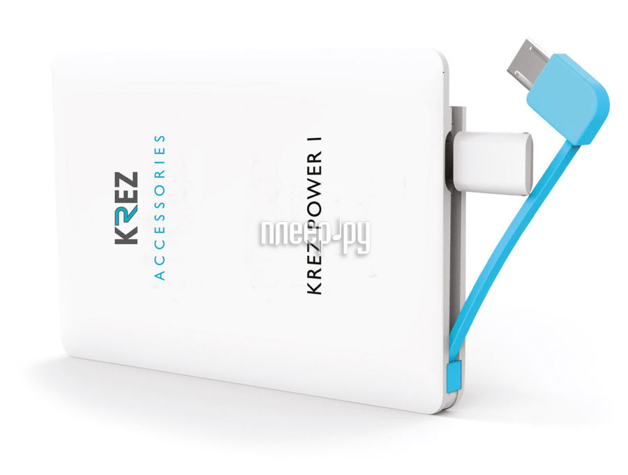 Аккумулятор KREZ Power LP2501W 2500 mAh White