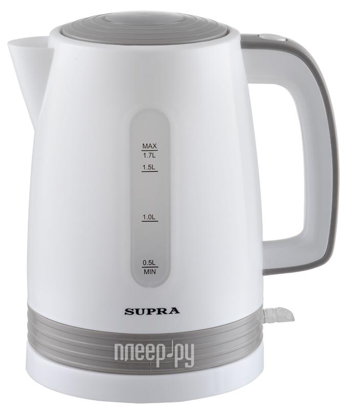 Чайник SUPRA KES-1723 (2015) White-Grey