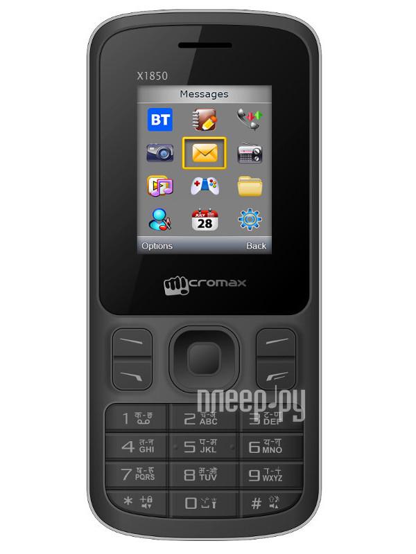Сотовый телефон Micromax X1850 Joy Black