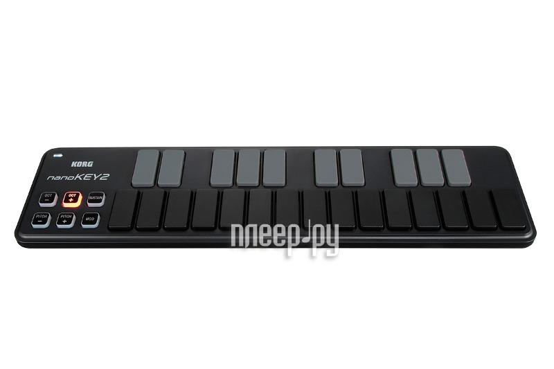 MIDI-контроллер KORG nanoKEY2 Black
