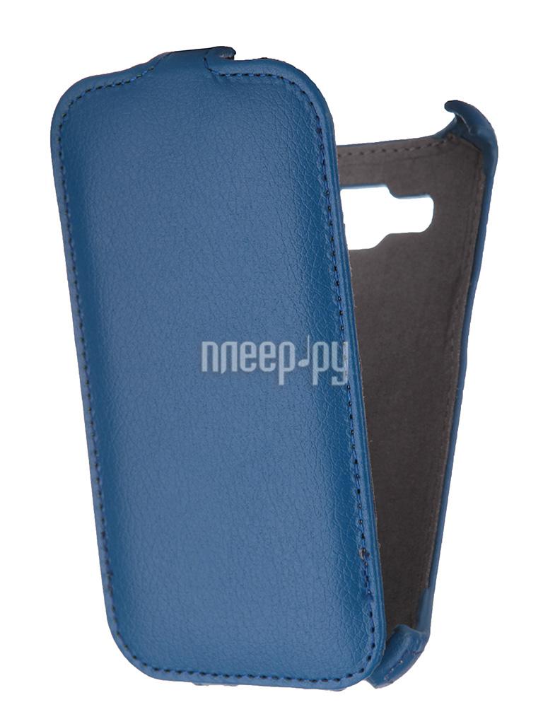 Аксессуар Чехол Samsung SM-G360 Galaxy Core Prime Gecko Blue GG-F-SGCPRI-DBLU