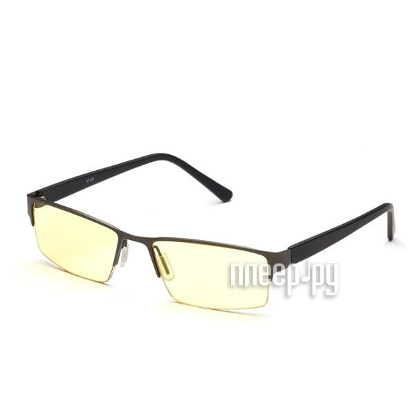 Очки компьютерные SPG Luxury AF091 Dark Grey