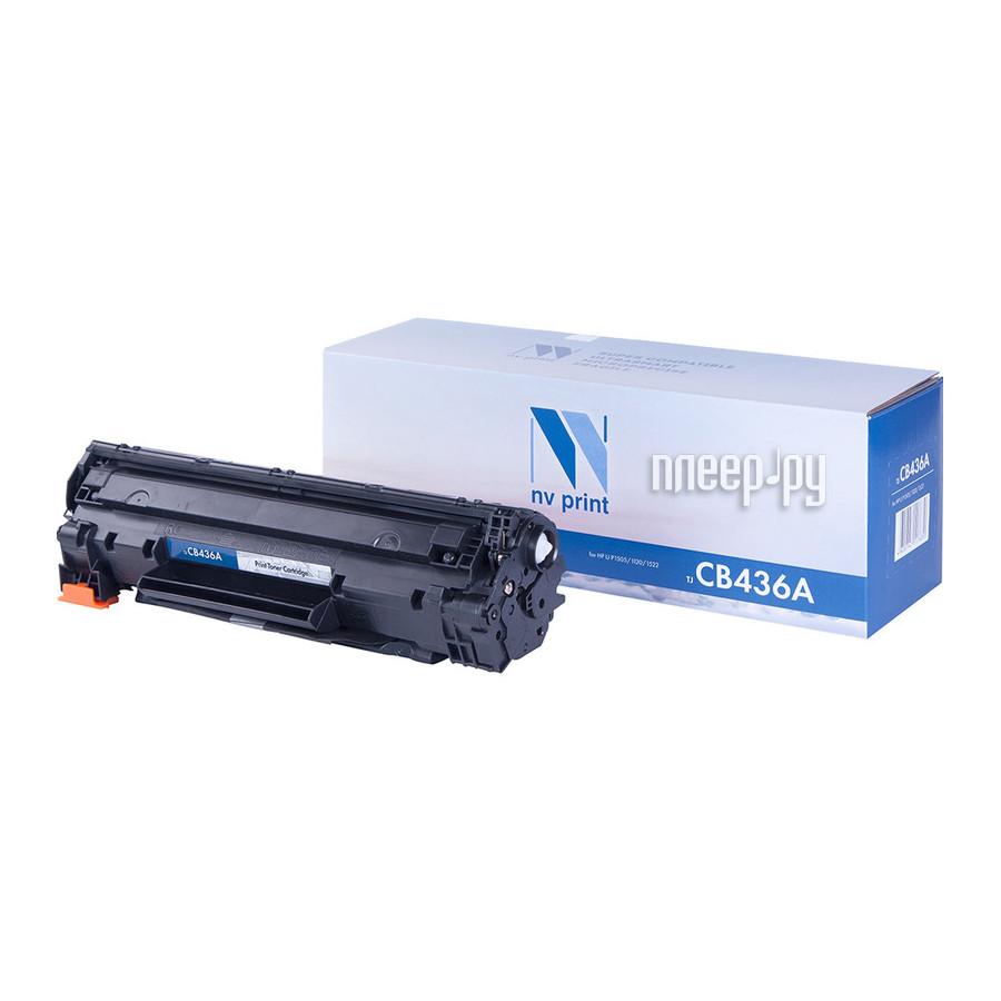 Картридж NV Print CB436A для LJ P1505 / 1120 / 1522