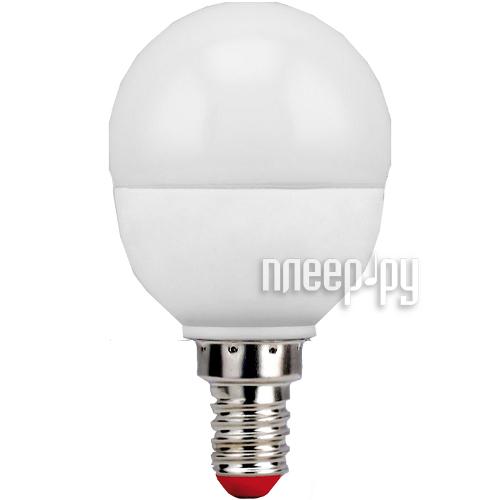 Лампочка Pulsar Optima G45 6W E14 2700K ALM-G45-6E14-2700-2