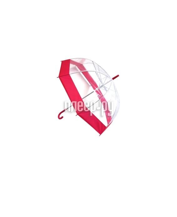 Зонт Эврика Transparent-Red 94291