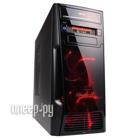 Корпус GMC Double-X w / o PSU Black