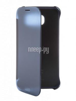 Аксессуар Чехол Samsung SM-G920 Galaxy S6 Clear View Black EF-ZG920BBEGRU