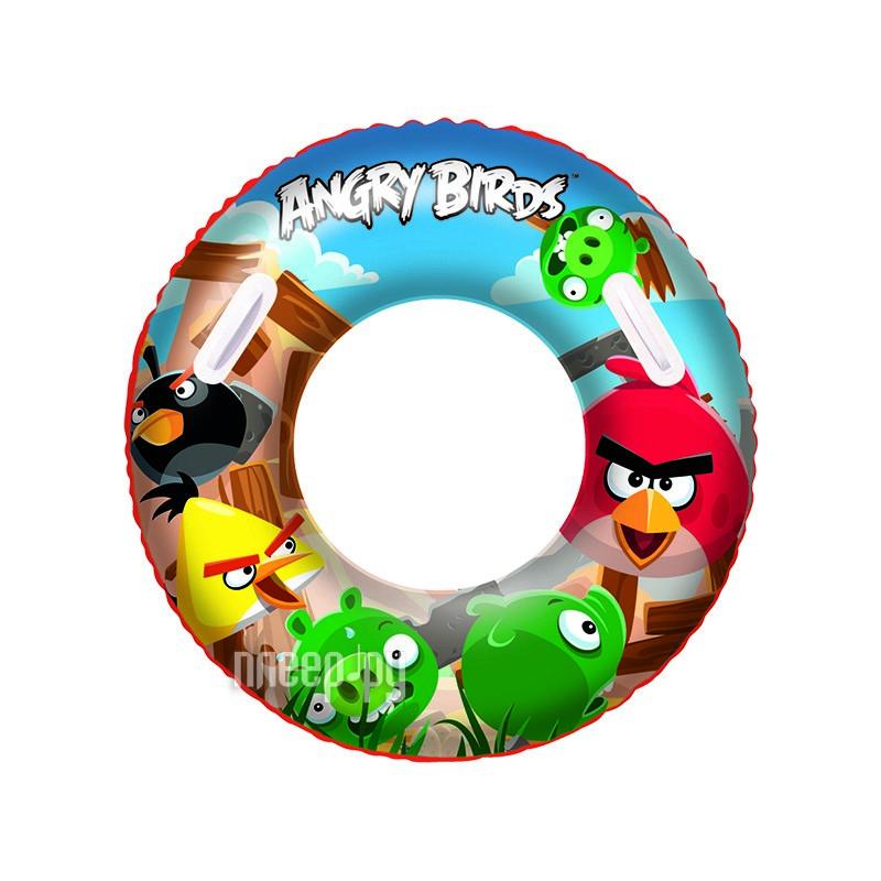 Надувной круг Bestway Angry Birds 96103