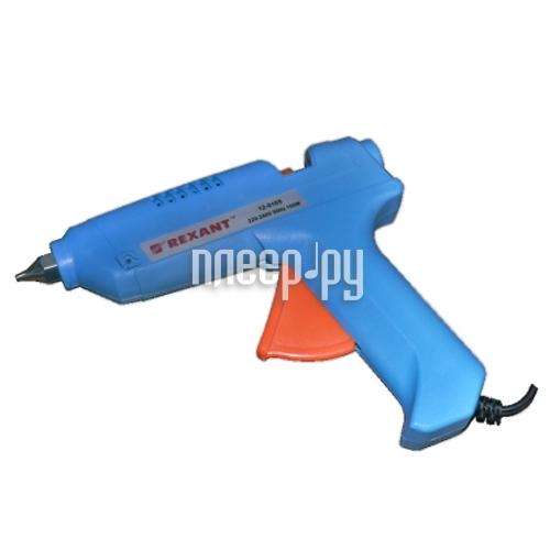 Термоклеевой пистолет Rexant 12-0105 100W