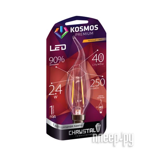 Лампочка Космос Premium Золотая Нить KLED2.4wCWE1427GF