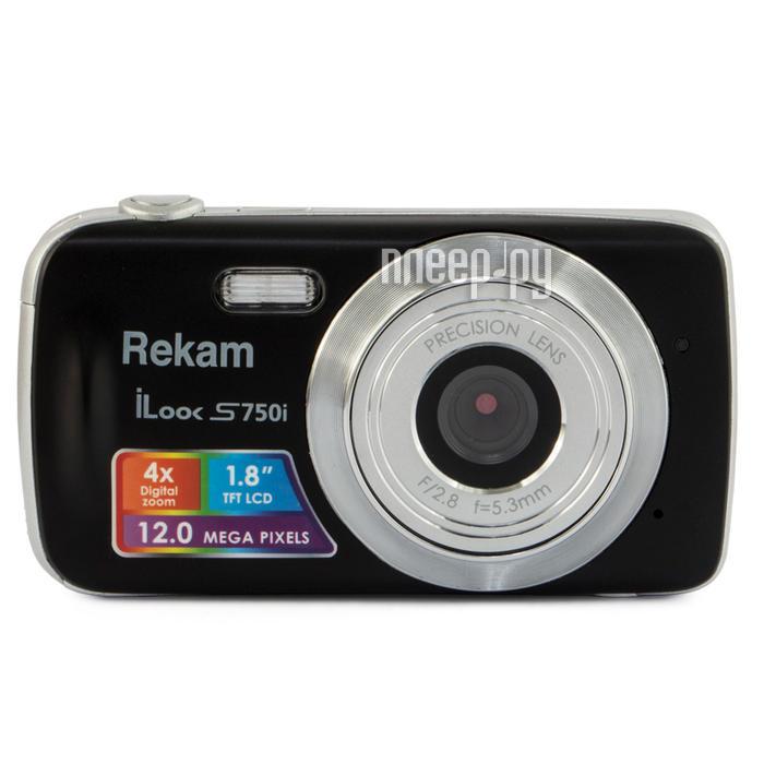Фотоаппарат Rekam iLook S750i Black