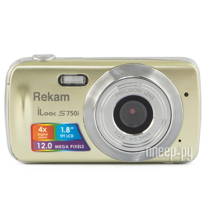 Фотоаппарат Rekam iLook S750i Champagne