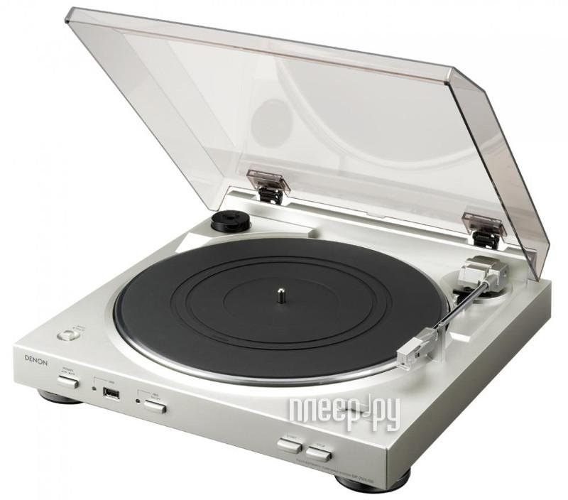 Проигрыватель виниловых дисков Denon DP-29F Silver