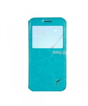 Аксессуар Чехол Samsung G920F Galaxy S6 G-Case Slim Premium Blue GG-614