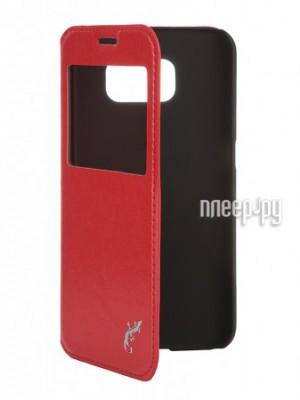 Аксессуар Чехол Samsung G920F Galaxy S6 G-Case Slim Premium Red GG-612