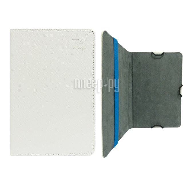 Аксессуар Чехол Snoogy for PocketBook 614/624/626/640 иск.кожа White SN-PB6X-WHT-LTH