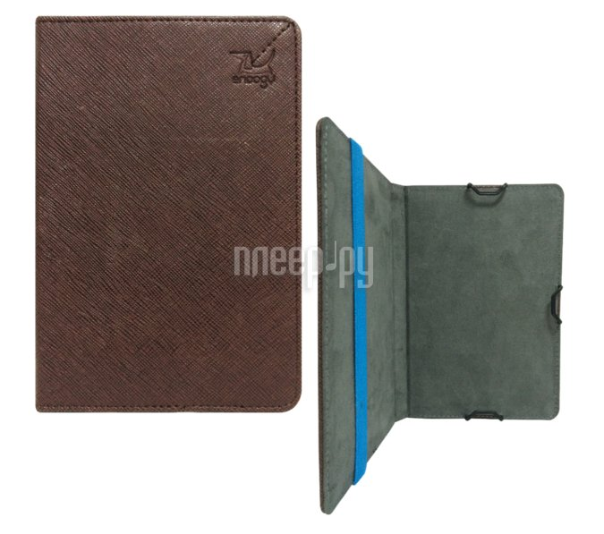 Аксессуар Чехол Snoogy for PocketBook 614 / 624 / 626 / 640 иск.кожа Brown SN-PB6X-BRN-LTH
