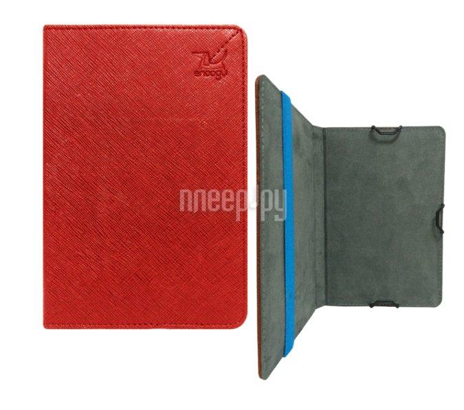 Аксессуар Чехол Snoogy for PocketBook 614 / 624 / 626 / 640 иск.кожа Red SN-PB6X-RED-LTH
