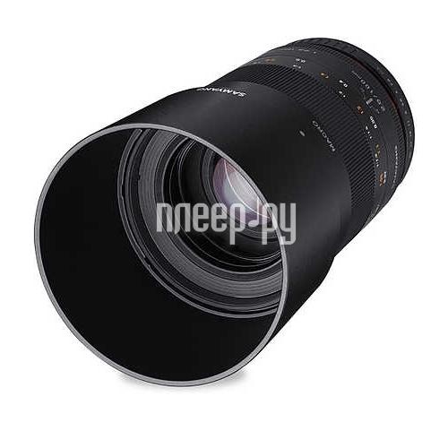 Объектив Samyang Nikon MF 100 mm F / 2.8 ED UMC Macro AE купить