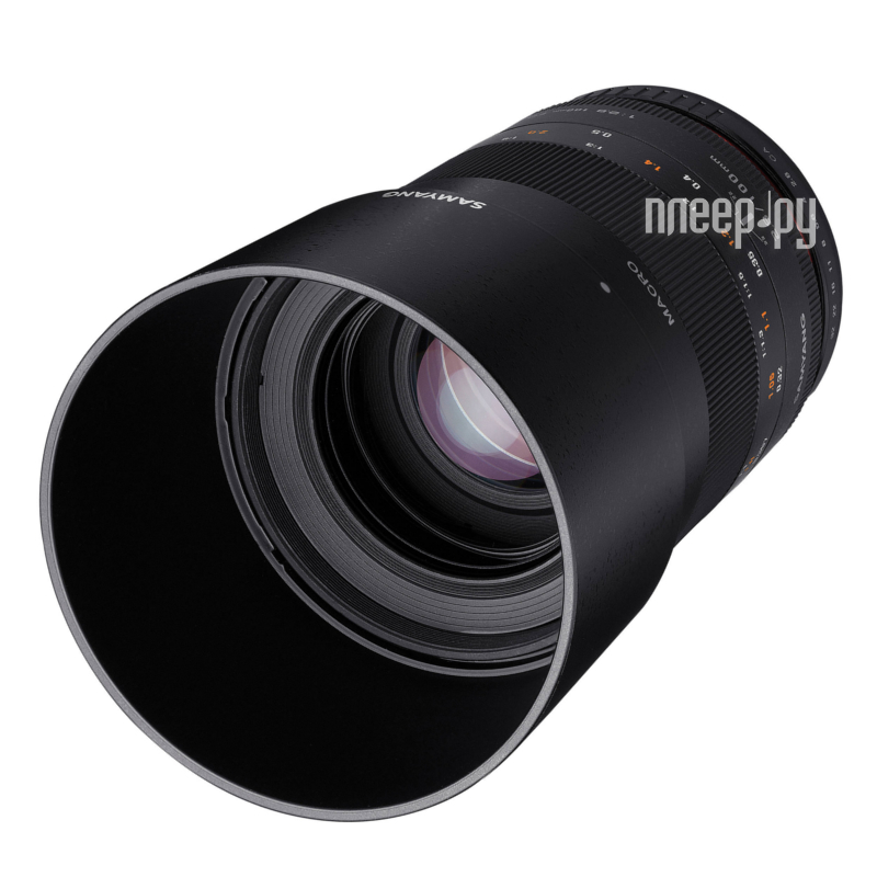 Объектив Samyang Canon MF 100 mm T3.1 ED UMC Macro VDSLR