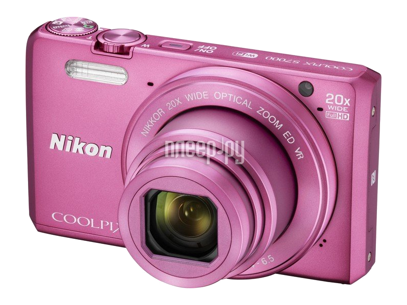 Фотоаппарат Nikon S7000 Coolpix Pink
