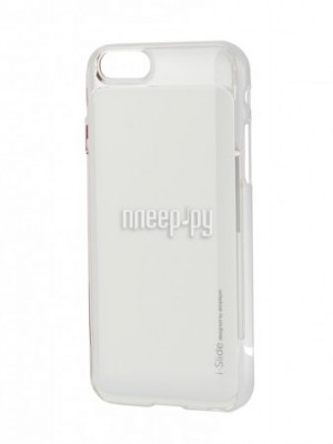 Купить Аксессуар Клип-кейс Skinplayer i-Slide для iPhone 6 Light White