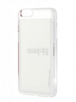 Купить Аксессуар Клип-кейс Skinplayer i-Slide для iPhone 6 Plus Transparent-White