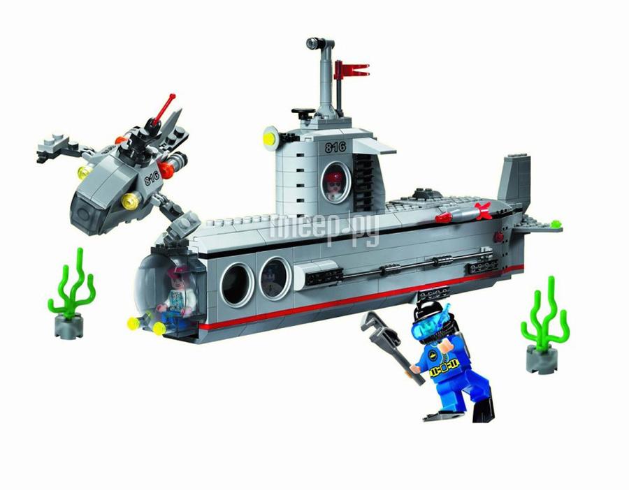 Конструктор Enlighten Brick Субмарина 816