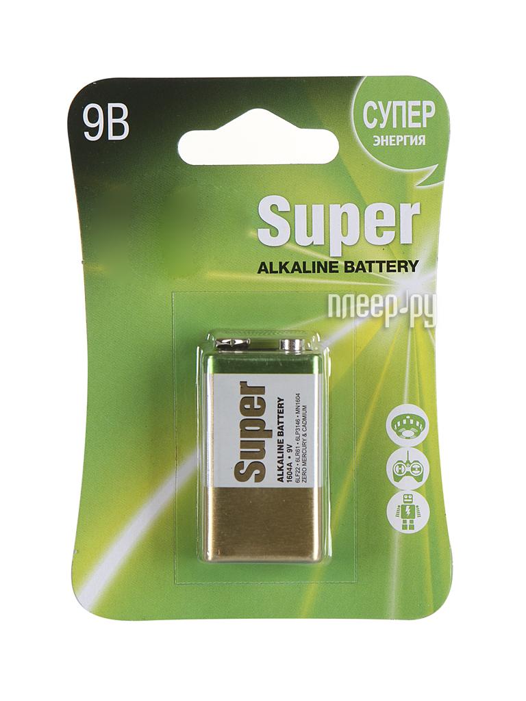 Батарейка КРОНА GP Super Alkaline 1604А (6LF22)-BC1