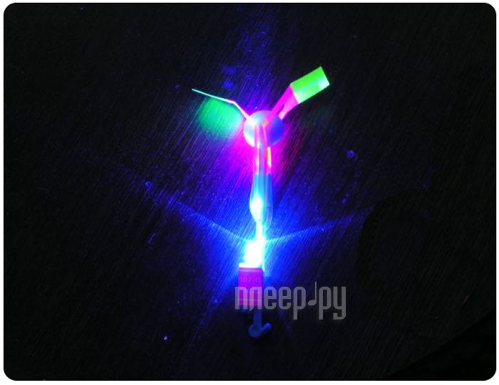 Игрушка Shantou Gepai / СмеХторг Вертолетик светящийся 15.5см 63627