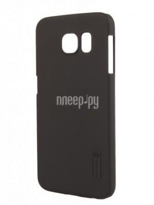 Аксессуар Чехол-накладка Samsung Galaxy S6 Nillkin Super Frosted Shield Black T-N-SGS6-002