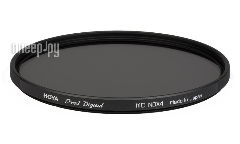 Светофильтр HOYA Pro 1D ND x4 72mm 76108  Pleer.ru  1639.000
