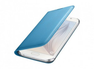 Аксессуар Чехол Samsung SM-G920 Galaxy S6 Flip Wallet Blue EF-WG920PLEGRU