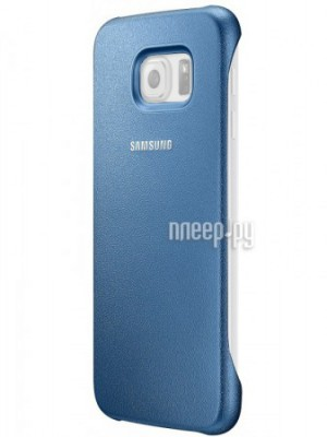 Аксессуар Чехол Samsung SM-G920 Galaxy S6 Protective Cover Blue EF-YG920BLEGRU