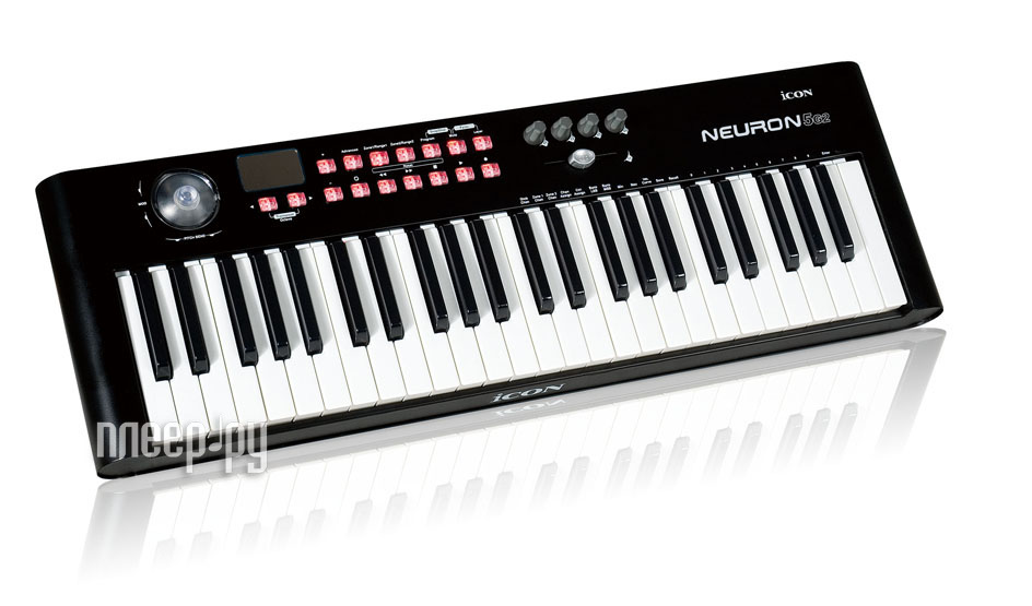 Midi-клавиатура ICON Neuron 5 Black