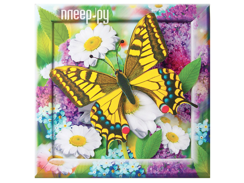 Бабочка на цветке поделка своими руками