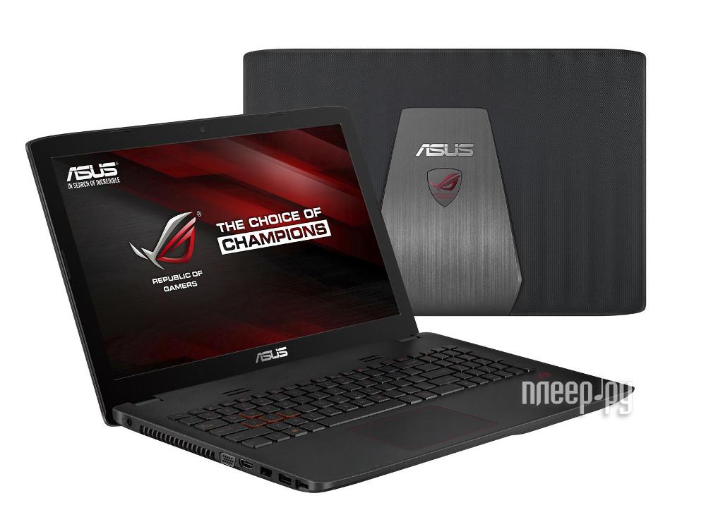 Ноутбук ASUS ROG GL552JX-XO106H 90NB07Z1-M01390 (Intel Core i5-4200H 2.8 GHz/8192Mb/1000Gb/DVD-RW/nV. Доставка по России
