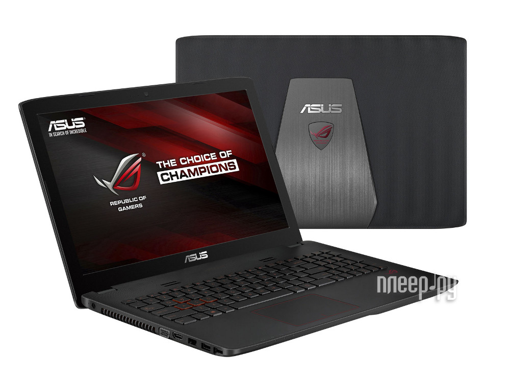 Ноутбук ASUS ROG GL552JX-XO106D 90NB07Z1-M01400 (Intel Core i5-4200H 2.8 GHz/8192Mb/1000Gb/DVD-RW/nV. Доставка по России