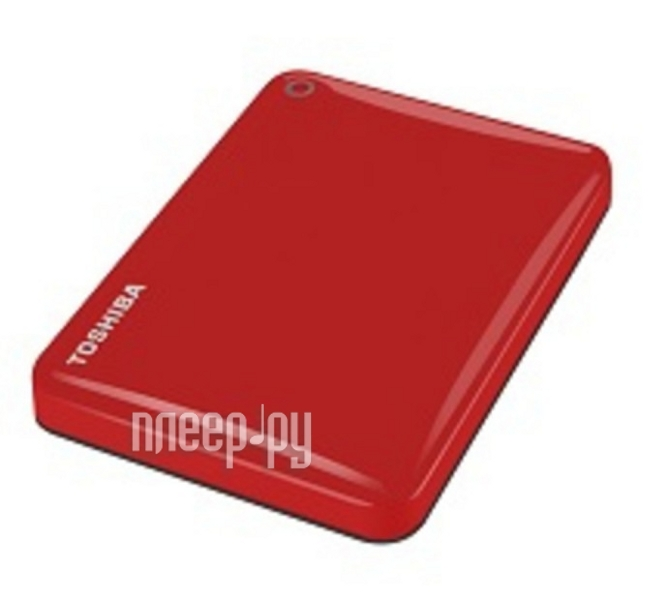 Жесткий диск Toshiba Canvio Connect II 3Tb Red HDTC830ER3CA